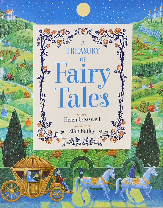 A Treasury of Fairy Tales snow tales