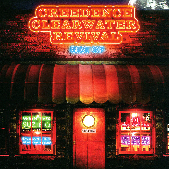 Creedence Clearwater Revival Creedence Clearwater Revival. Best Of (2 CD) creedence clearwater revival виниловая пластинка