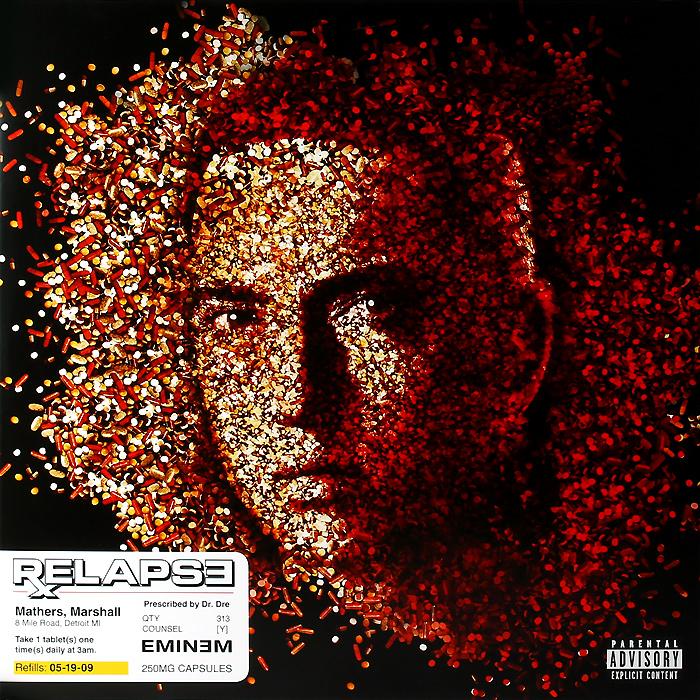 Эминем Eminem. Relapse (2 LP) eminem eminem relapse 2 lp