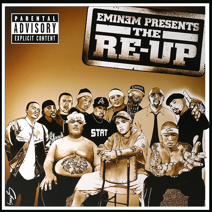 Эминем Eminem. Eminem Presents The Re-Up (2 LP) eminem eminem eminem presents the re up 2 lp