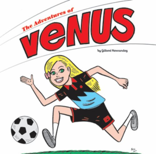 The Adventures of Venus jerry and the joker adventures and comic art