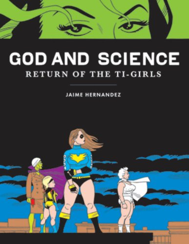 God and Science: Return of the Ti-Girls (Love and Rockets) butt plug gold small