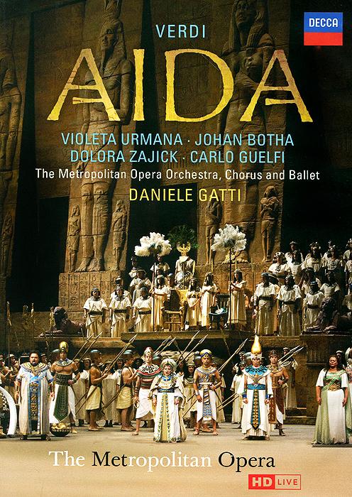 Verdi, Daniele Gatti: Aida (2 DVD) danza