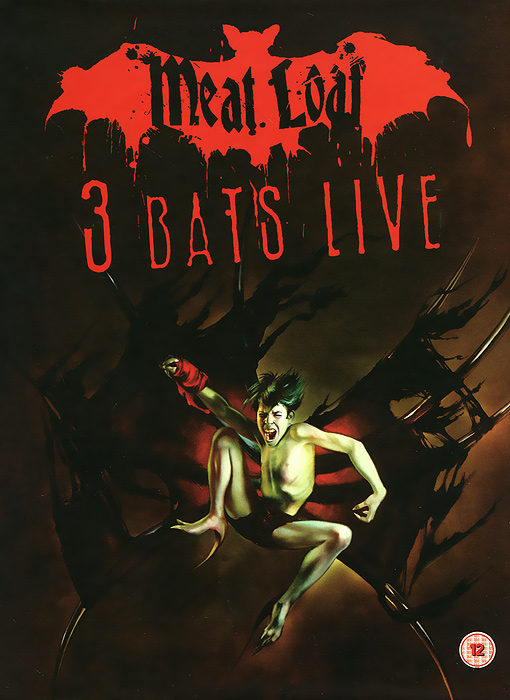 Meat Loaf: 3 Bats Live - Deluxe Edition (2 DVD) date display automatic mechanical watch with hollow out back cover for men vigosh 8355b