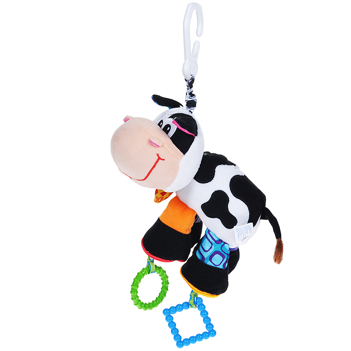 Playgro Игрушка-подвеска Корова игрушка погремушка playgro тигр