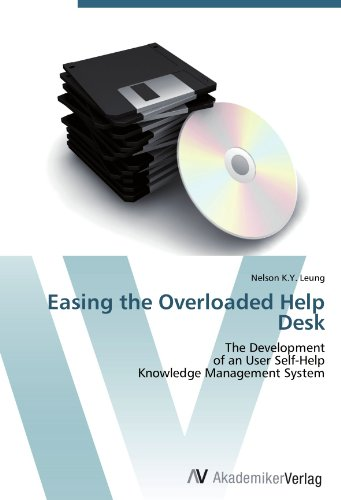 Easing the Overloaded Help Desk: The Development of an User Self-Help Knowledge Management System a decision support tool for library book inventory management