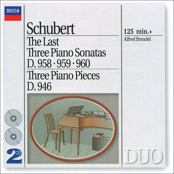 где купить Альфред Брендель Alfred Brendel. Schubert. The Last Three Piano Sonatas (2 CD) дешево