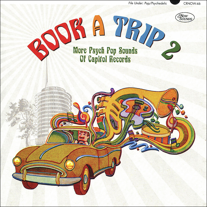 Book A Trip 2. More Psych Pop Sounds Of Capitol Records акустика центрального канала vandersteen vcc 2 cherry