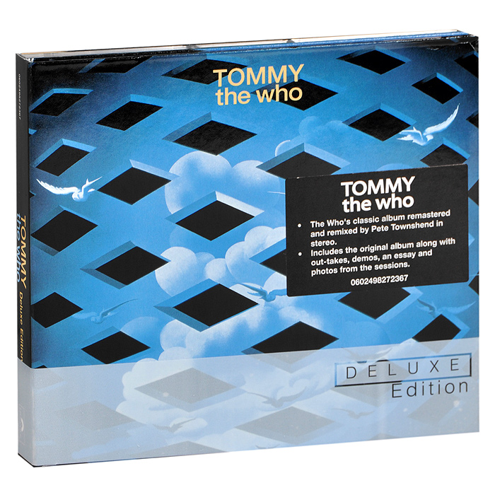 The Who The Who. Tommy. Deluxe Edition (2 CD) the who the who tommy live at the royal albert hall 3 lp