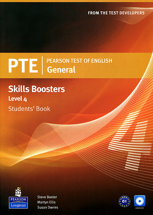 Pearson Test of English: General: Skills Booster: Level 4: Students' Book (+ 2 CD-ROM) цветкова татьяна константиновна english grammar practice учебное пособие