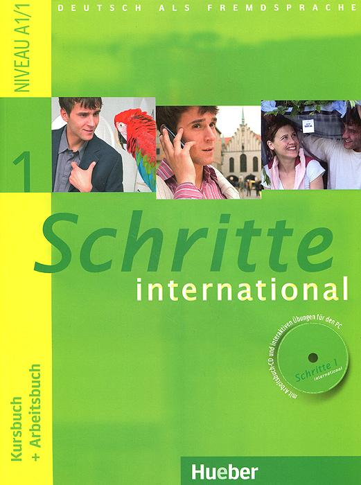 Schritte international 1: Kursbuch + Arbeitsbuch (+ CD-ROM) все цены