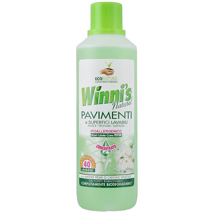 Средство на растительном сырьедля мытья полов Winnis Pavimenti, 1 л0064Средство для мытья полов Winnis Pavimenti поддерживает чистоту и гигиену пола и всех моющихся поверхностей в доме. Его формула разработана для того, чтобы свести до минимума возникновение аллергий. Средство прошло испытание на никель (порог Использование в разбавленном виде: растворить 1/2 пробки (25 мл) средства в 5 литрах воды. Нет необходимости в смывании.Использование в чистом виде: смочить средством тряпку или влажную губку, смыть.Меры предосторожности: Хранить в недоступном для детей месте. В случае попадания в глаза немедленно промыть их большим количеством воды и обратиться к врачу. Не допускать попадания в пищевод. В случае попадания в пищевод, немедленно обратиться к врачу и предъявить ему упаковку или этикетку. Характеристики: Размер емкости: 8 см х 8 см х 28 см.Размер упаковки: 8 см х 8 см х 28 см.Состав: ниже 5% анионные поверхностно-активные вещества, неионные поверхностно-активные вещества, спирт, мыло, прочие компоненты.