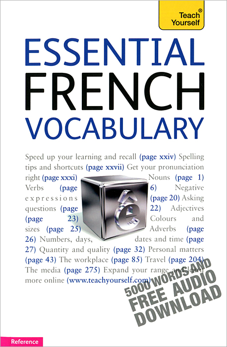 Essential French Vocabulary easy learning speak french with cdx2