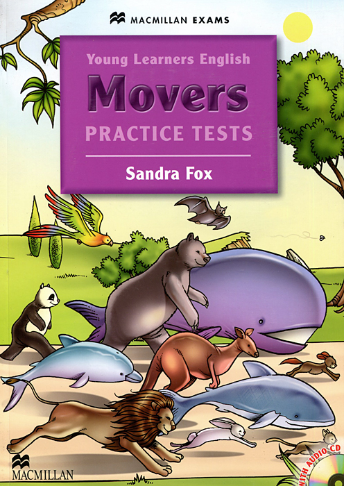 Movers Practice Tests (+ CD-ROM) sandra fox movers practice tests cd rom
