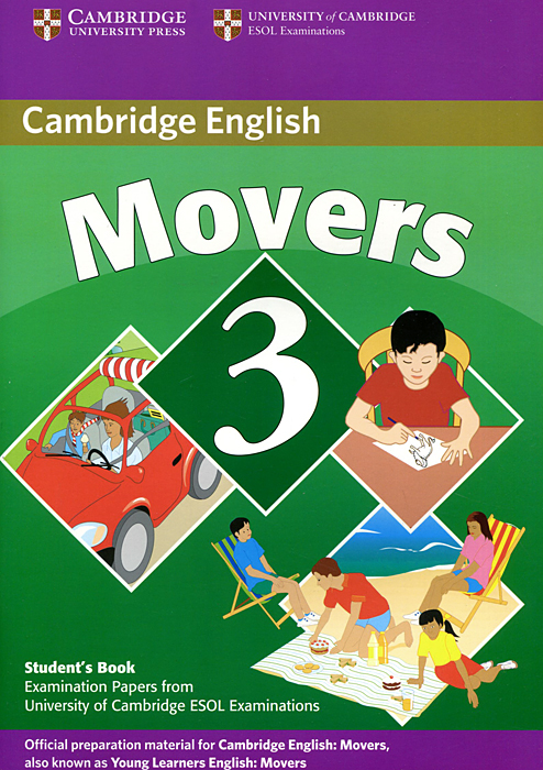 Cambridge English Movers 3: Student's Book cambridge movers 1 answer booklet