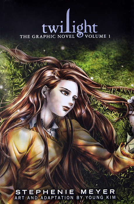 Twilight: The Graphic Novel: Volume 1 a caress of twilight