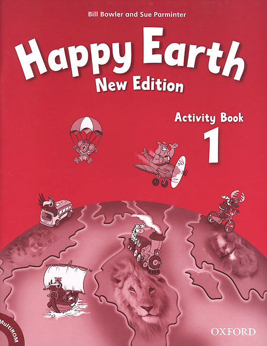 Happy Earth 1: Activity Book (+ CD-ROM) merry team 6 activity book audio cd