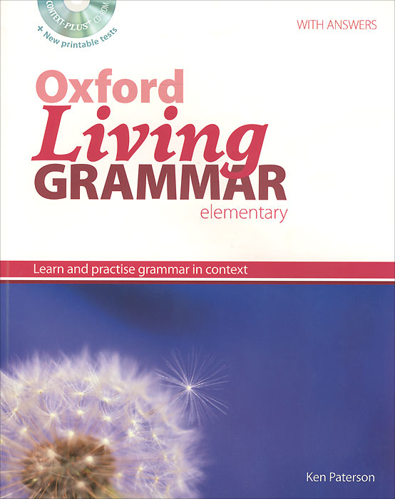 Oxford Living Grammar: Elementary: Student's Book: Learn and Practise Grammar in Context (+ CD-ROM) rm1 2337 rm1 1289 fusing heating assembly use for hp 1160 1320 1320n 3390 3392 hp1160 hp1320 hp3390 fuser assembly unit