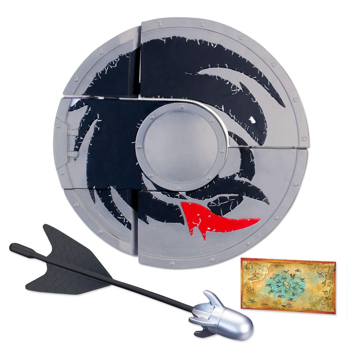 Щит-арбалет Dragons, цвет: серый, черный dragons dragons 66554 дрэгонс щит арбалет трансформер