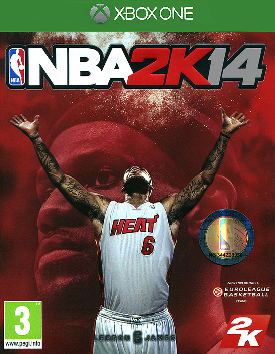 Zakazat.ru NBA 2K14 (Xbox One)