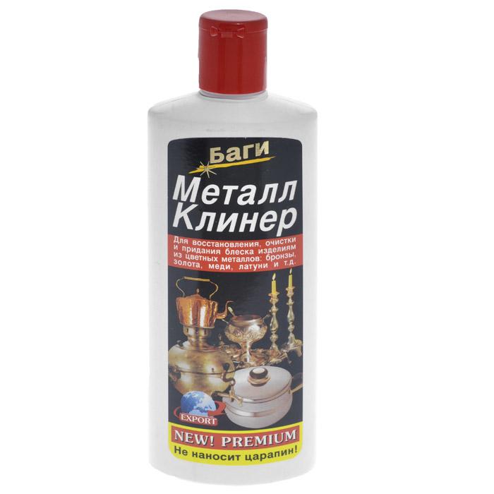 Очиститель металла Bagi Металл клинер, 350 мл багги средство д удаления накипи из чайников кастрюль кумкумит bagi 350 мл