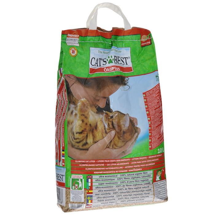 Наполнитель для кошачьего туалета Cats Best Eko Plus, древесный, 10 лKB-02Наполнитель для кошачьего туалета Cats Best Eko Plus вырабатывается из необработанной европейской еловой и сосновой древесины, которая берётся из свежеупавших стволов. Применение некондиционной древесины сохраняет здоровые природные лесные ресурсы.Особенности наполнителя для кошачьего туалета Cats Best Eko Plus:экологически чистый и биоразлагаемый на 100%. Вырабатывается из необработанной европейской еловой и сосновой древесины, которая берется из свежеупавших стволов. Применение некондиционной древесины сохраняет здоровые природные лесные ресурсы. Не содержит искусственных химических добавок;очень экономичный. Примерно в 3 раза выгоднее многих других комкующихся наполнителей. Он может существенно дольше оставаться в кошачьем лотке, и тем самым является более экономичной альтернативой многих, как ошибочно полагают, более дешевых наполнителей, что подтверждают сравнительные тесты;прекрасно поглощает неприятные запахи. Неприятный запах эффективно и в течение продолжительного времени связывается в капиллярной системе растительных волокон; без добавления химических веществ или ароматизаторов. Кошки любят естественный, свежий запах растительных волокон. Сделайте приятное себе, и своей кошке;впитывает в 7 раз больше собственного объема;не содержит искусственных ароматизаторов и отдушек;образует плотные комки, которые легко удаляются;утилизируется в городскую канализационную сеть;растительные волокна характеризуются приятной мягкостью и отсутствием пыли, что обеспечивает комфорт для кошачьих лап и чувствительных органов дыхания;легкий при транспортировке.Объем: 10 л. Товар сертифицирован.