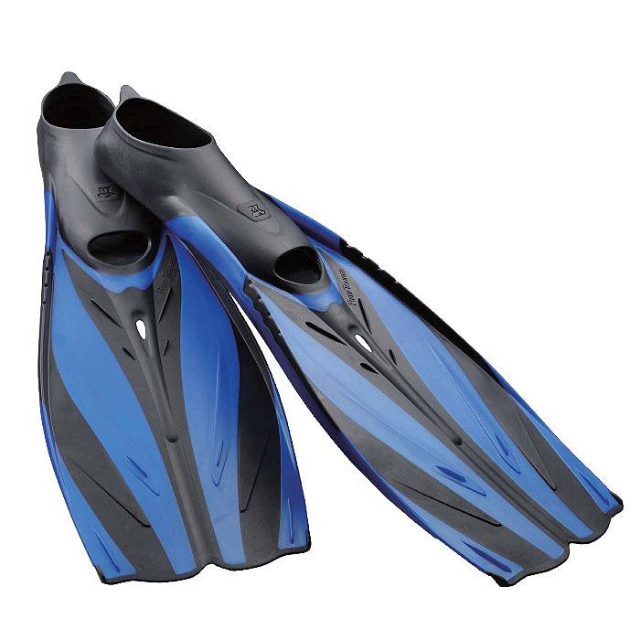 Ласты Tusa Reef Tourer с закрытой пяткой, цвет: синий. TS RF-20 BL. Размер 40/41 ласты для сноркелинга 520 для взрослых