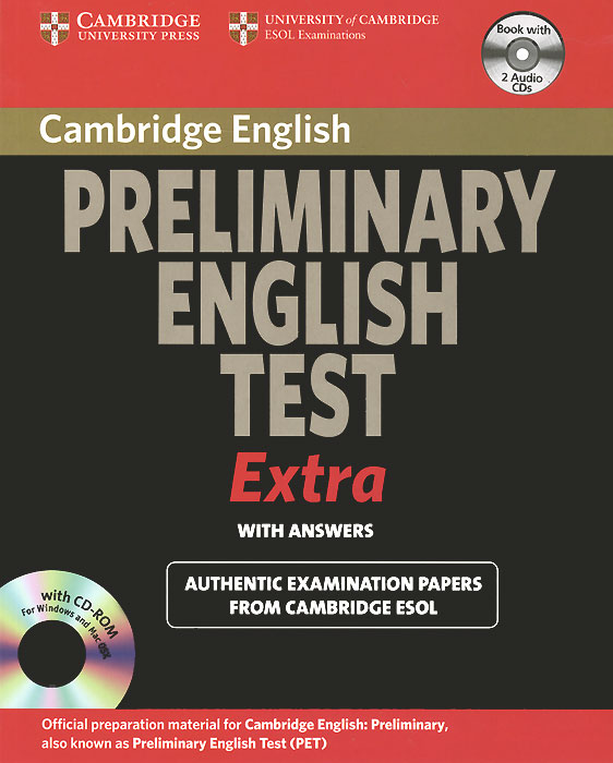 Cambridge Preliminary English Test Extra Self Study Pack (+ 3 CD-ROM) betsis a mamas l succeed in cambridge english preminary student s book self study guide комплект из 2 х книг cd