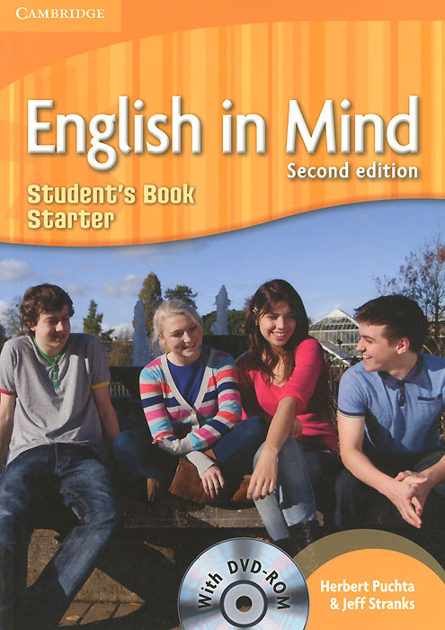 English in Mind: Starter Level: Student's Book (+ DVD-ROM) blue fins starter level cd rom