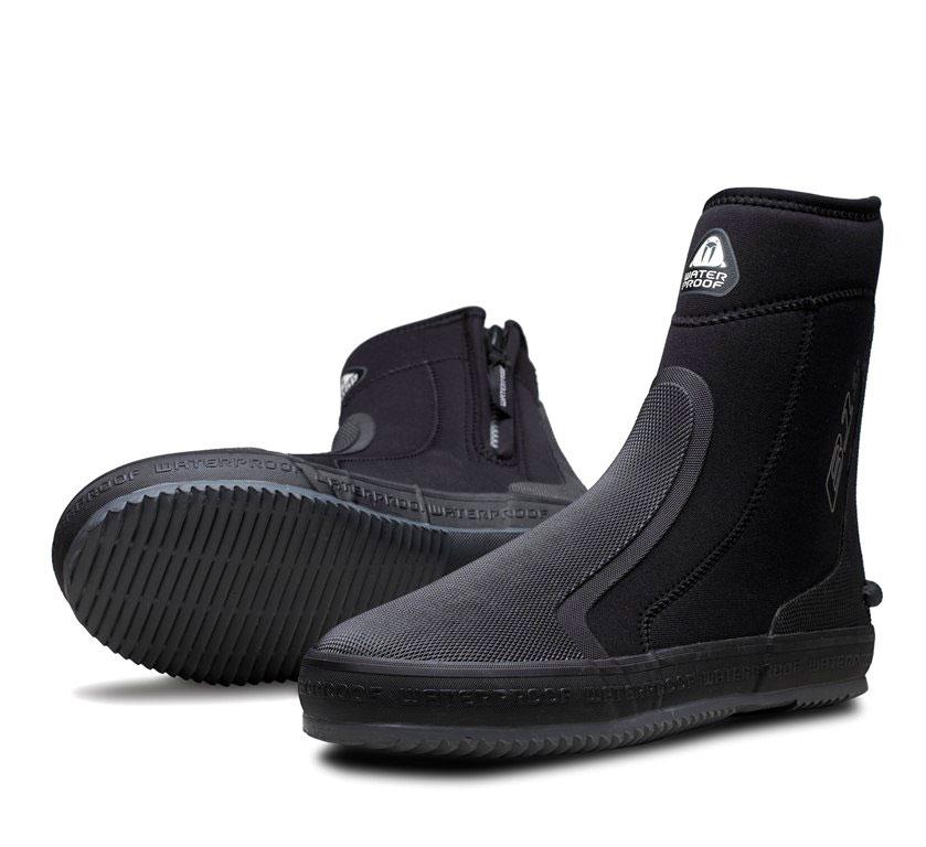 Боты для дайвинга Waterproof B1, цвет: черный. WP 107024. Размер M/L (42)