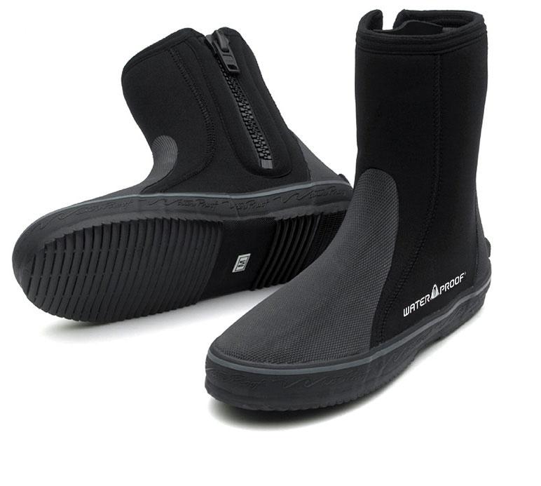 Боты для дайвинга Waterproof B2, цвет: черный. WP 108020. Размер XXS (34/35)