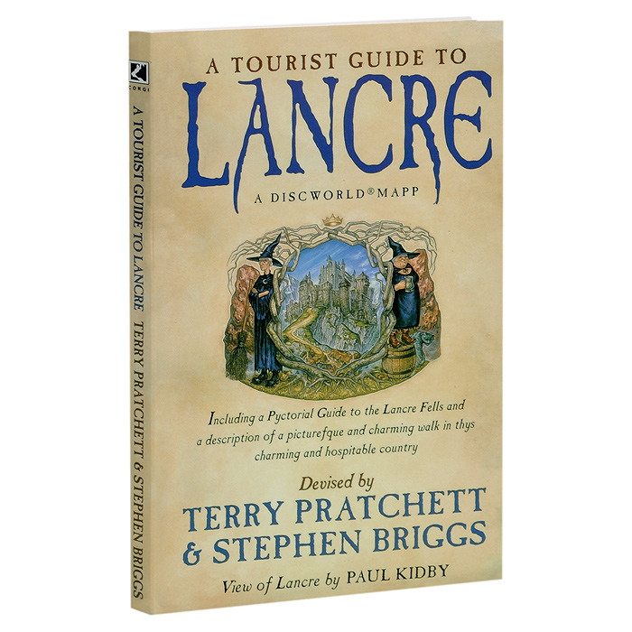 A Tourist Guide to Lancre: A Discworld Mapp where the heart lies