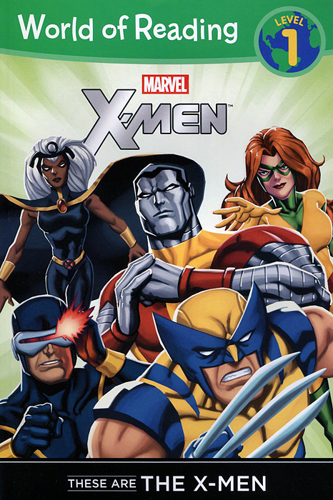 These are the X-Men: Level 1