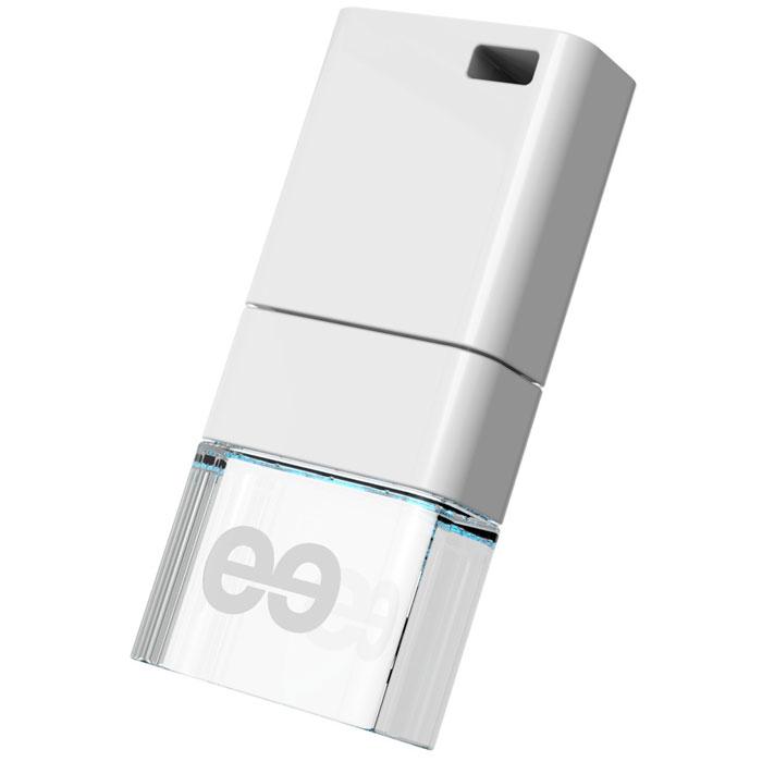 Leef ICE 32GB, White USB-накопительLFICE-032WHRLeef ICE разрабатывался как самый стильный флеш накопитель. Для достижения требуемого эффекта при производстве используется метакриловая смола, которая позволяет создать кристально чистый блеск льдинки, преломляющей солнечный свет. Leef ICE обладает ударопрочными свойствами, а также пыле-и влагостойкая, что позволяет защитить ваши воспоминания от любых испытаний.Системные требования: Windows 8, Windows 7, Windows XP (SP3), Windows Vista (SP1, SP2), Apple Mac OS X