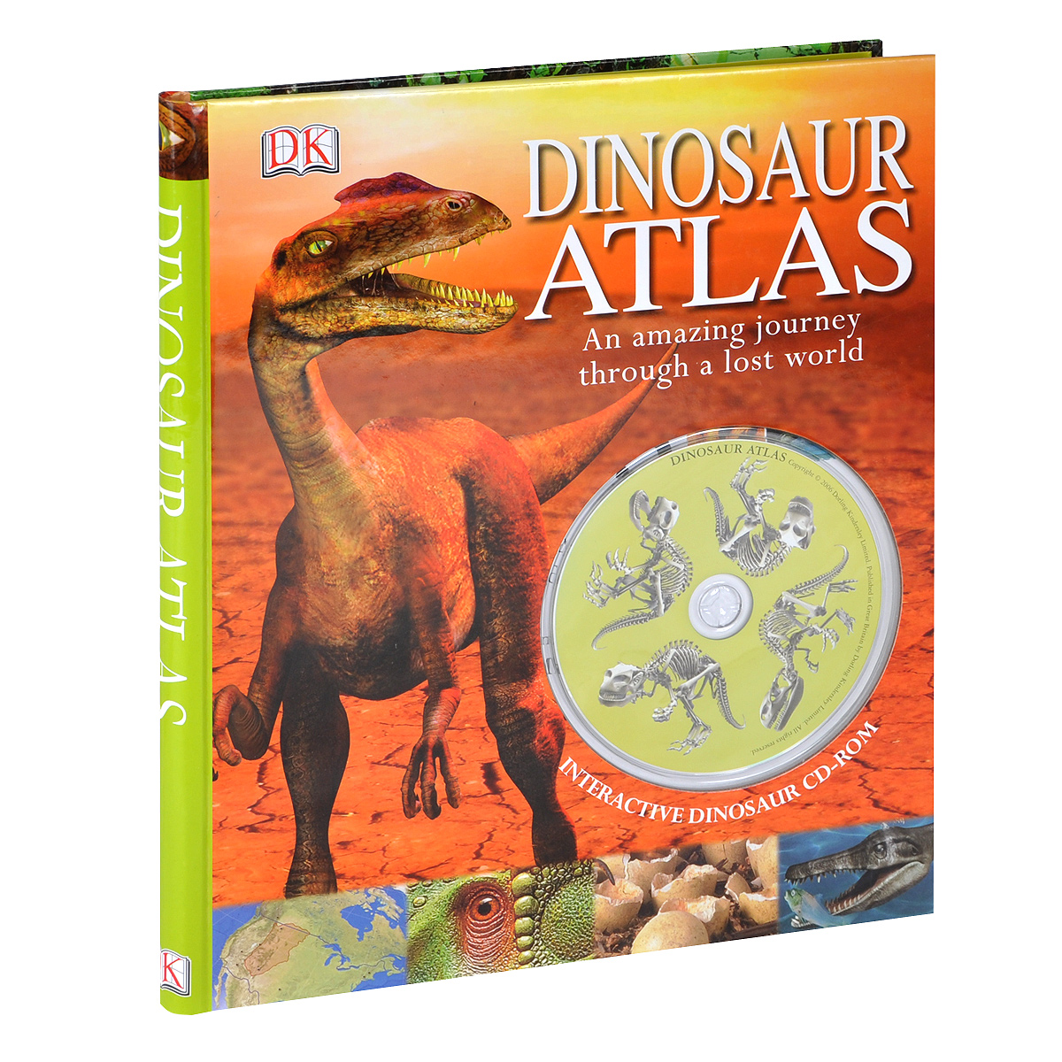 Dinosaur Atlas (+ CD-ROM) verne j journey to the centre of the earth