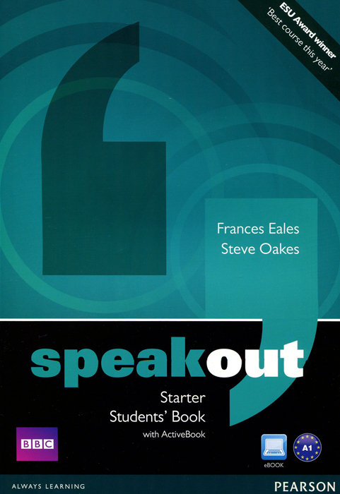 Speakout: Starter: Student's Book with ActiveBook (+ DVD-ROM) english learning and teaching in taiwan