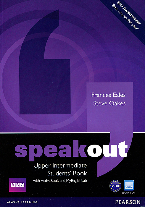 Speakout: Upper-Intermediate: Student's Book with ActiveBook and MyEnglishLab (+ DVD-ROM) speakout starter student s book with dvd myenglishlab 2ed