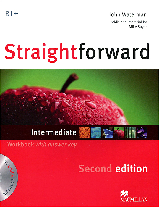 Straightforward Intermediate: Workbook with answer Key (+ CD) калькулятор citizen sdc 444s 12 разрядный черный