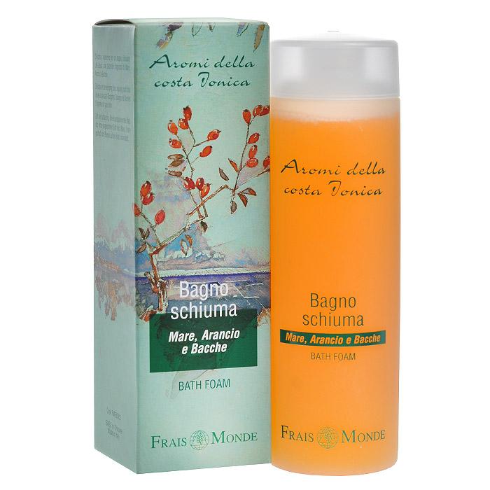Frais Monde Гель для душа - Пена для ванны, с ароматом моря, апельсиного дерева и ягод, 200 мл косметика для мамы vitamin гель для душа 5 ягод 650 мл