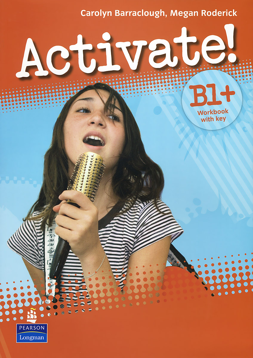 Activate! B1+ Workbook with Key (+ CD-ROM) barraclough c activate b1 workbook with key cd rom pack isbn 9781405884174