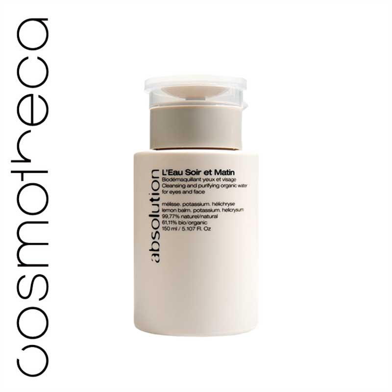Absolution Тоник для снятия макияжа, увлажняющий, 150 млABS0000Тоник Absolution для снятия макияжа с лица и глаз очищает и освежает кожу. В состав входят сертифицированные органические компоненты. Мелисса лимонная очищает кожу, калий регулирует водообмен в клеточном метаболизме и делает кожу гладкой. Бессмертник улучшает микроциркуляцию крови и придает коже здоровый цвет лица. Характеристики:Объем: 150 мл. Артикул: ABS0000. Производитель: Франция. Товар сертифицирован.