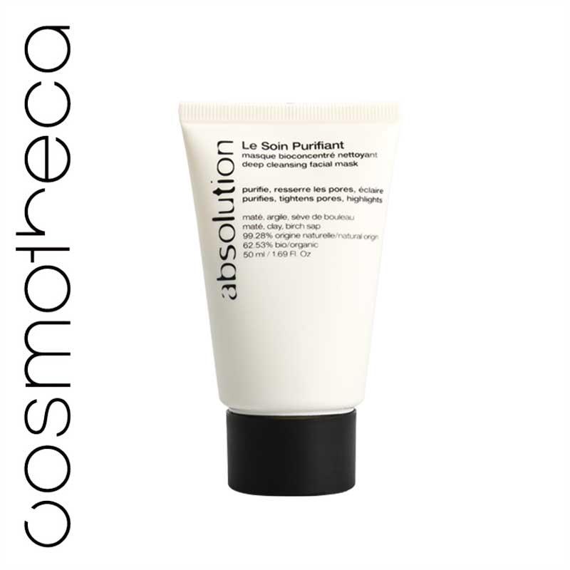 Absolution Маска для лица, очищающая, 50 млABS0014Маска для лица Absolution быстро и эффективно очищает кожу. Белая глина абсорбирует излишний жир и стягивает поры, березовый сок успокаивает и очищает кожу, экстракт мате - хлорофилл, витамины (А, С, В1, В2, К), минералы, - придает коже сияние. Характеристики:Объем: 50 мл. Артикул: ABS0014. Производитель: Франция. Товар сертифицирован.