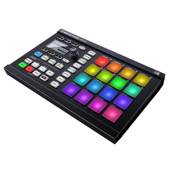 Native Instruments Maschine Mikro Mk2, Black MIDI-контроллер