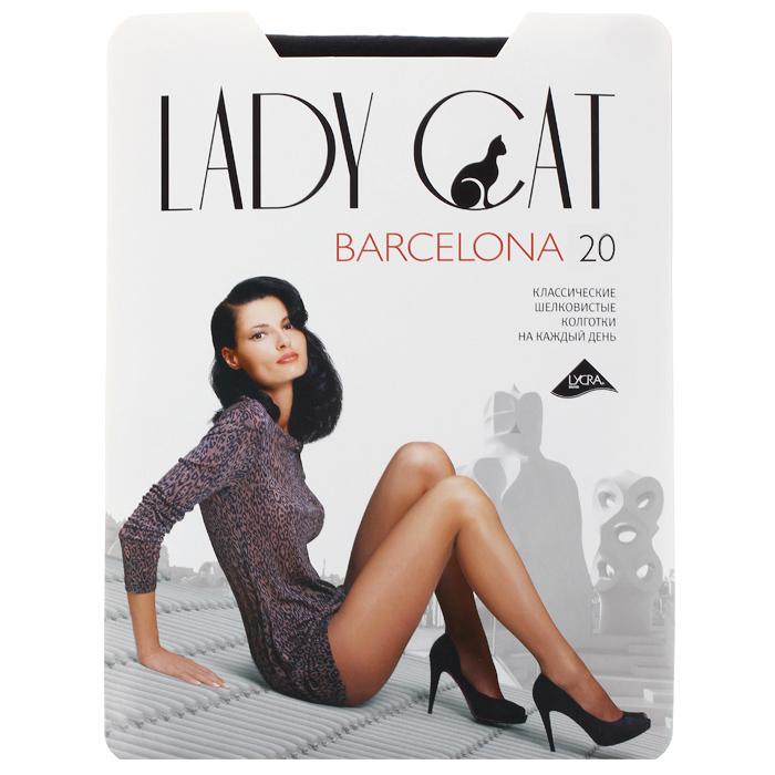 Колготки классические Грация Lady Cat Barcelona 20. Nero (черный). Размер 5Barcelona 20Плотность: 20 ден. Тонкие шелковистые колготки, идеально облегающие ноги. Усиленный верх и уплотненный мысок обеспечивают дополнительную прочность. Классические колготки на каждый день.В коллекциях колготок Грация представлены модели, которые станут удачным дополнением к гардеробу любой женщины. Модели с заниженной и классической линией талии, совсем тоненькие с эффектом прохлады для жарких дней и утепленные с добавлением шерсти. Любая модница знает, что особое внимание при выборе одежки для своих ножек следует уделять фактуре изделия. В коллекции колготок Грация вы найдете и шелковистые колготки с добавлением лайкры, которые окутают ваши ножки легким мерцанием, и более строгие матовые модели.Но главная особенность колготок Грация - их практичность: они устойчивы к появлению затяжек и очень прочны. В особенно уязвимых зонах многие модели специально уплотнены, что обеспечивает дополнительную защиту.