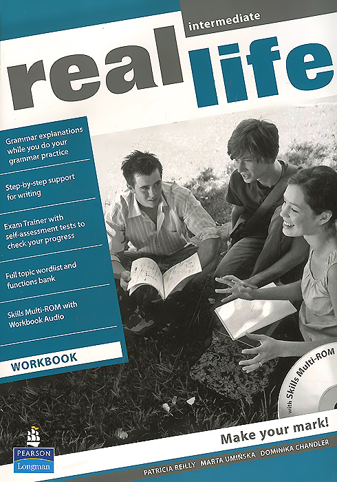 Real Life Intermediate: Workbook (+ CD-ROM) clare a new total english intermediate workbook with key cd
