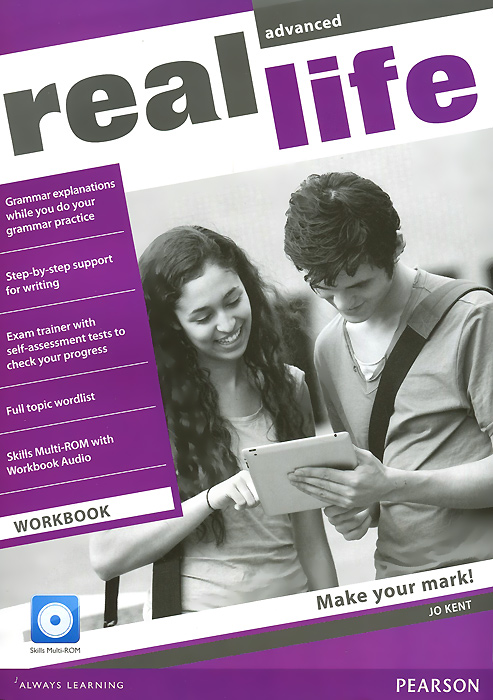 Real Life: Advanced: Workbook (+ CD-ROM) thorn s real lives real listening advanced student's book b2 c1 mp3