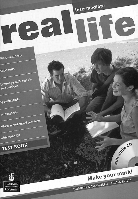 Real Life: Intermediate: Test Book (+ CD-ROM)