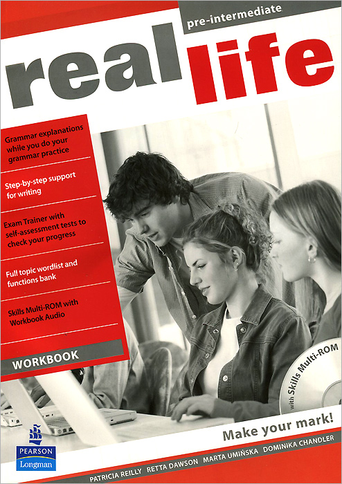 Real Life: Pre-Intermediate: Workbook (+CD-ROM) roberts rachael sayer mike insight pre intermediate workbook