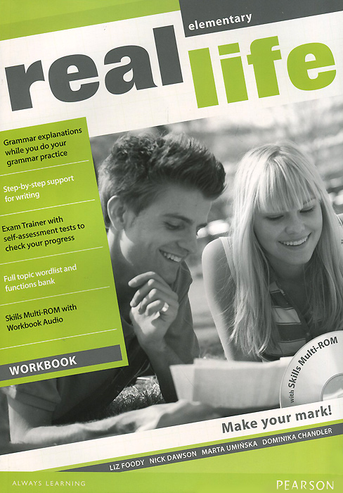 Real Life: Elementary: Workbook (+ CD-ROM) learning english language via snss and students academic self efficacy