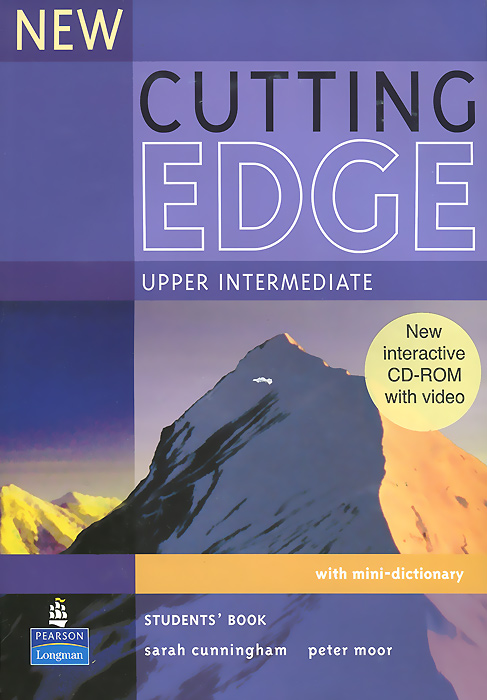 New Cutting Edge: Upper-Intermediate: Student's Book (+CD-ROM) powell m in company upper intermediate 2nd edition student book cd rom cef liver в2 с1